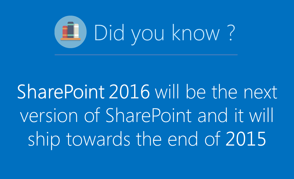 What's New In SharePoint 2016 ?