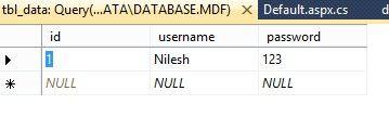 Enter the Data2