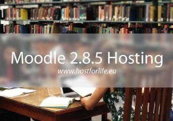 HostForLIFE Moodle 2 8 5 Hosting